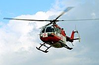 Helicopter of Magen David Adom