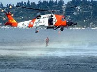 US Coast Guard Sikorsky HH-60 Jayhawk SAR helicopter