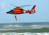 US Coast Guard Eurocopter HH-65 Dolphin SAR helicopter