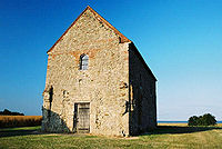 The church of St Peter-on-the-Wall, <small>Bradwell-on-Sea</small>