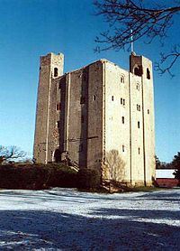 The Grade I listed Hedingham Castle, <small>with the best preserved Norman keep in the UK</small>