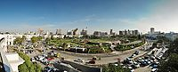 Connaught Place in New Delhi is an important economic hub of the National Capital Region.