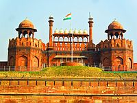 Red Fort, a UNESCO World Heritage Site, was the main residence of the Mughal emperors for nearly 200 years. The location is currently used by the Prime Minister of India to address the nation on Indian Independence Day.