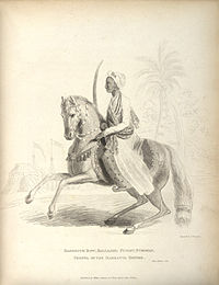 Raghunath Rao, the Maratha Empire's Peshwa who played a key role in capturing Delhi from the Afghans in the Second Battle of Delhi.