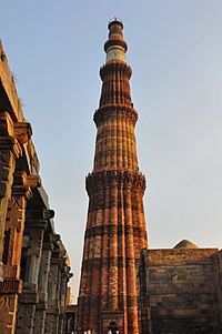 At 72.5 m, a UNESCO World Heritage Site, the Qutub Minar is the world's tallest free-standing brick minaret.