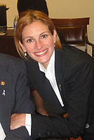 Julia Roberts won for and as Erin Brockovich (2000).