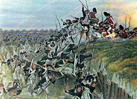The storming of Redoubt No. 10 in the Siege of Yorktown during the American Revolutionary War prompted Great Britain's government to begin negotiations, resulting in the Treaty of Paris and Great Britain's recognition of the United States as an independent state.