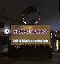 The former Harpo Studios in West Loop, Chicago was home of The Oprah Winfrey Show from 1986 until 2011 and other Harpo Production operations until 2015.