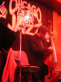 A Chicago jazz club