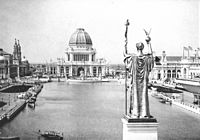 Court of Honor at the World's Columbian Exposition in 1893