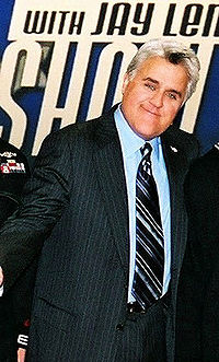 Leno on The Tonight Show in 2005