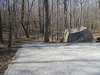 Patsy Cline aircraft crash site, Camden, Tennessee