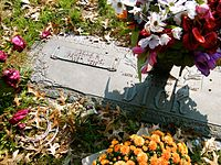 The grave of Patsy Cline
