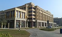 The main campus of the University of Macau is located in neighbouring Hengqin.
