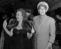 Reagan and his first wife Jane Wyman, 1942