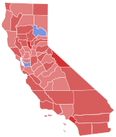 In 1966, Reagan was elected governor of California with 57.5 percent of the vote. Reagan:   Brown: