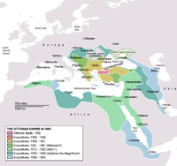 The Ottoman Empire was a Turkish empire that lasted from 1299 to 1922.