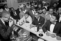 Malcolm X photographs Ali in February 1964, after Ali had defeated Sonny Liston to become world heavyweight champion