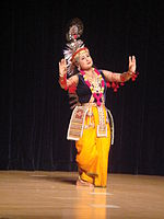 Manipuri dance, one of eight the classical dances of India