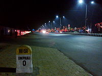 National Highway 150 in Imphal