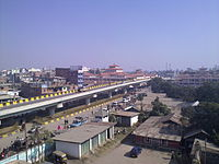 A view of Imphal City