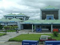 Imphal airport is the second largest airport in India's northeast.