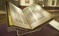 The Bible is the sacred book in Christianity.