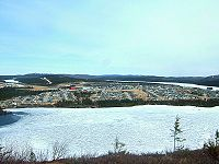 The mining town of Fermont, North Shore, the beginning of the road of iron