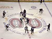 The Montreal Canadiens at the Bell Centre
