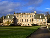 Gordonstoun House as seen from the South Lawn