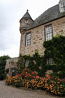 The Mediaeval South West wing of Gordonstoun House
