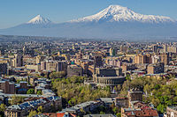 Yerevan is the economic and cultural centre of Armenia.
