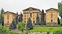 The National Assembly in Yerevan