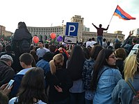 In April 2018, a quasi-authoritarian regime collapsed as a result of a nationwide protest movement in Armenia