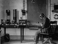 A radio broadcasting system from 1906.