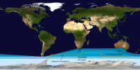 """The International Hydrographic Organization's delineation of the """"Southern Ocean"""" has moved steadily southwards since the original 1928 edition of its Limits of Oceans and Seas."""