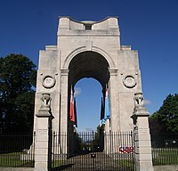 The Arch of Remembrance in Victoria Park