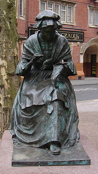 The Leicester Seamstress by James Walter Butler (1990) Leicester, Hotel Street
