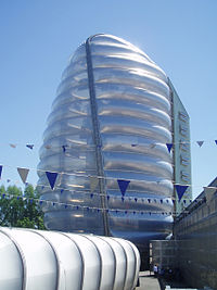 The National Space Centre in Leicester