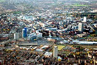 Central Leicester (looking WNW)