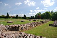 Leicester Abbey ruins, now part of Abbey Park