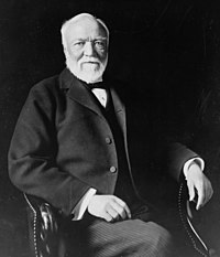 Scottish immigrant Andrew Carnegie led the enormous expansion of the American steel industry.