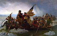 Washington's surprise crossing of the Delaware River in December 1776 was a major comeback after the loss of New York City; his army defeated the British in two battles and recaptured New Jersey.