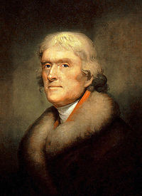 Jefferson saw himself as a man of the frontier and a scientist; he was keenly interested in expanding and exploring the West.
