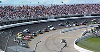 North Carolina Speedway (pictured in 2012), where the race was held
