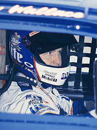 Rusty Wallace (pictured in 1998) led the most laps of any driver with 182.
