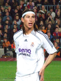Ramos in action in March 2007
