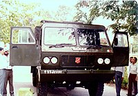 Matang was completely developed and manufactured by Vehicle Factory Jabalpur
