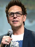 James Gunn, writer and director of the Guardians of the Galaxy films and The Guardians of the Galaxy Holiday Special