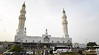 Muhammad built the Quba'a Masjid upon his arrival at Medina and is said to have visited the mosque every Saturday afternoon.